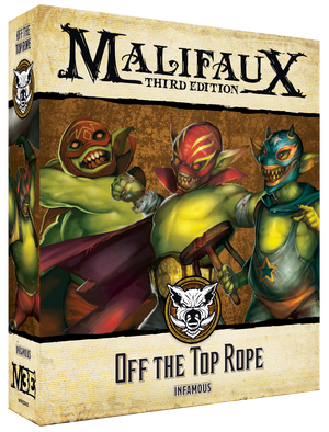 Load image into Gallery viewer, Off the Top Rope - Wyrd Miniatures - Online Store