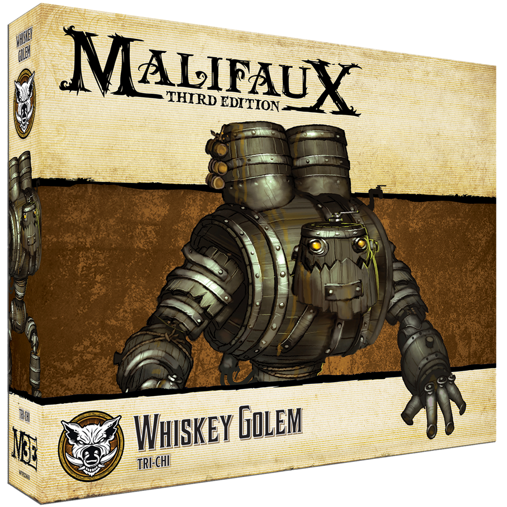 Whiskey Golem - Wyrd Miniatures - Online Store