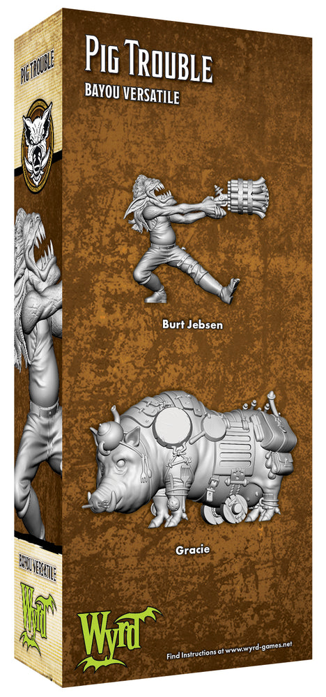 Load image into Gallery viewer, Pig Trouble - Wyrd Miniatures - Online Store