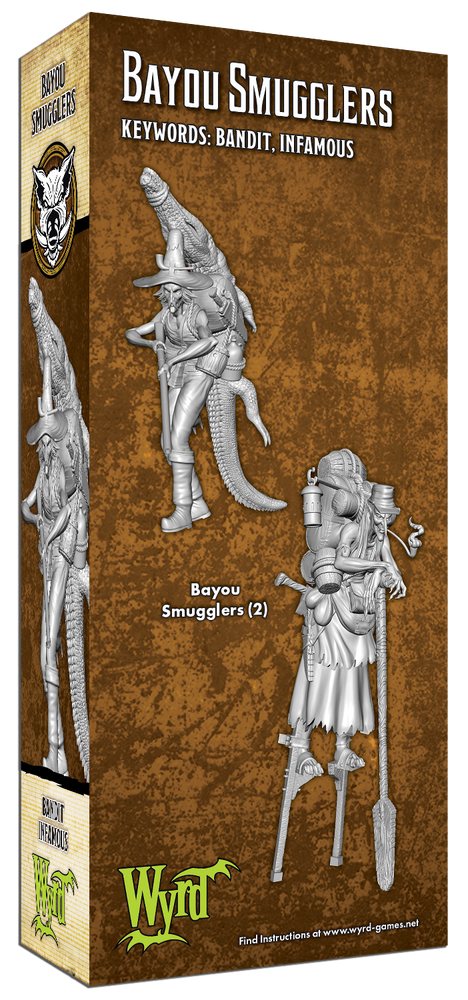 Load image into Gallery viewer, Bayou Smugglers - Wyrd Miniatures - Online Store