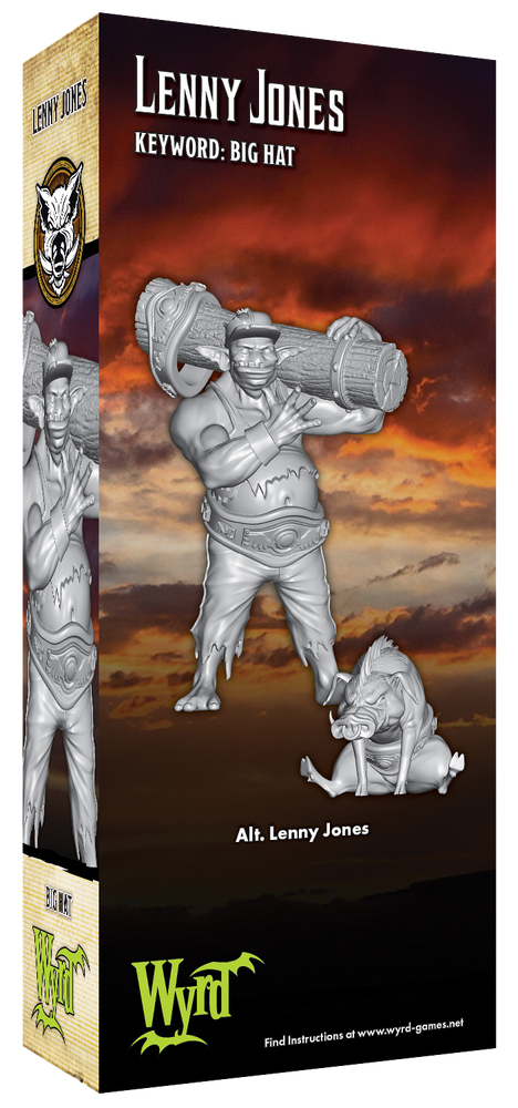 Load image into Gallery viewer, Alt Lenny Jones - Wyrd Miniatures - Online Store