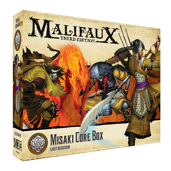 Load image into Gallery viewer, Misaki Core Box - Wyrd Miniatures - Online Store
