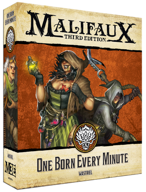 Load image into Gallery viewer, One Born Every Minute - Wyrd Miniatures - Online Store