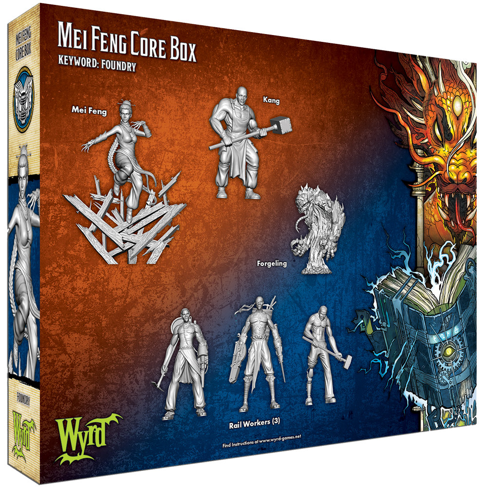Load image into Gallery viewer, Mei Feng Core Box - Wyrd Miniatures - Online Store