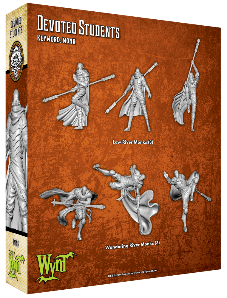 Load image into Gallery viewer, Devoted Students - Wyrd Miniatures - Online Store