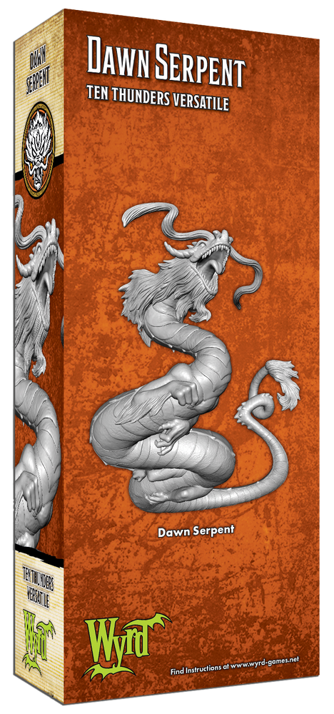 Load image into Gallery viewer, Dawn Serpent - Wyrd Miniatures - Online Store