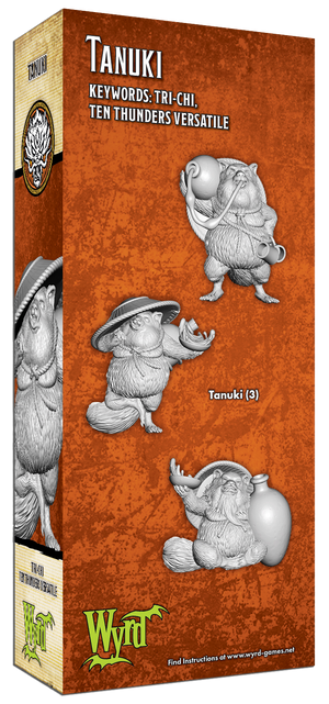 Load image into Gallery viewer, Tanuki - Wyrd Miniatures - Online Store