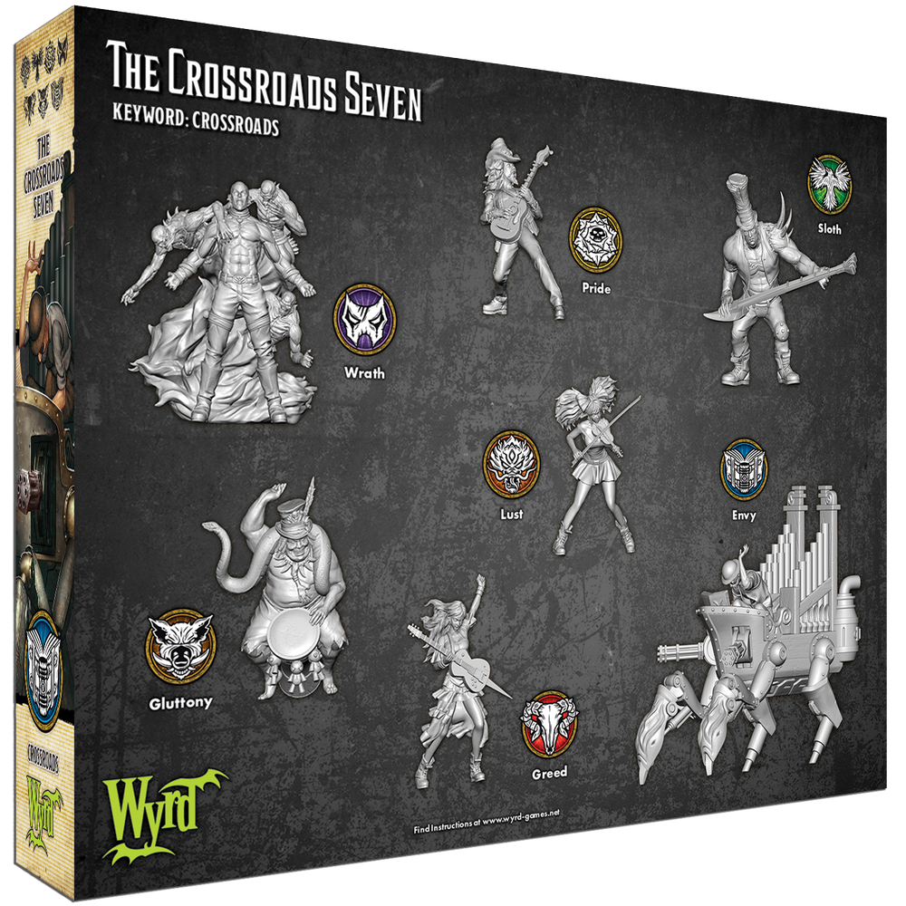 Load image into Gallery viewer, Crossroads Seven - Wyrd Miniatures - Online Store