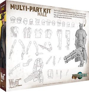 Load image into Gallery viewer, Male Multi-part Kit - Wyrd Miniatures - Online Store