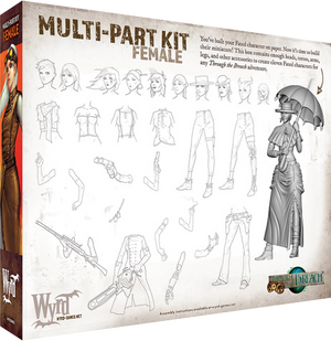 Load image into Gallery viewer, Female Multi-part Kit - Wyrd Miniatures - Online Store
