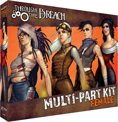 Female Multi-part Kit - Wyrd Miniatures - Online Store
