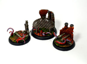 Load image into Gallery viewer, Wyrdscape Sewer 50mm - Wyrd Miniatures - Online Store