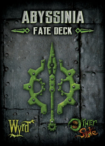 Abyssinia Fate Deck - Wyrd Miniatures - Online Store