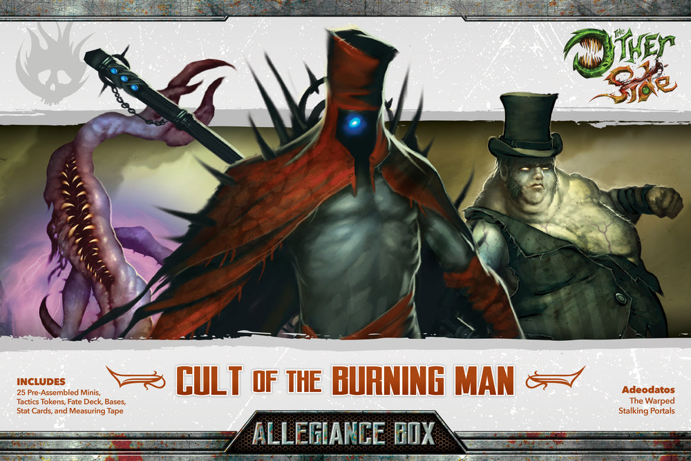 Cult of the Burning Man Allegiance Box - Wyrd Miniatures - Online Store