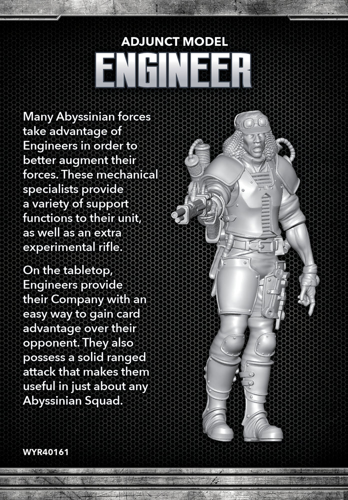 Engineer - Wyrd Miniatures - Online Store