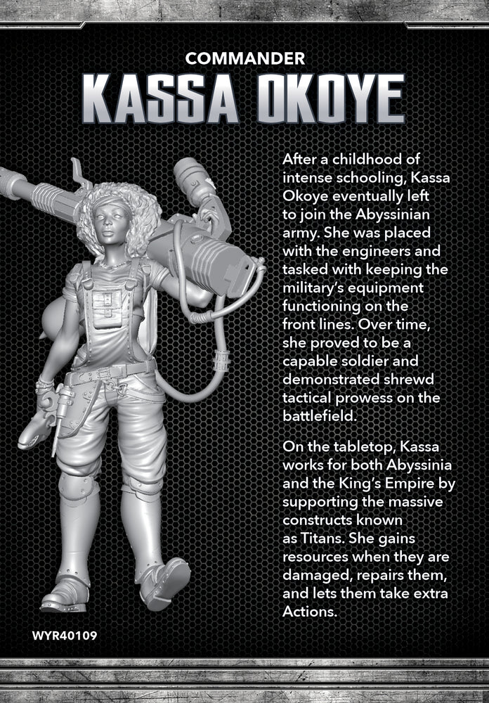 Load image into Gallery viewer, Kassa Okoye - Wyrd Miniatures - Online Store