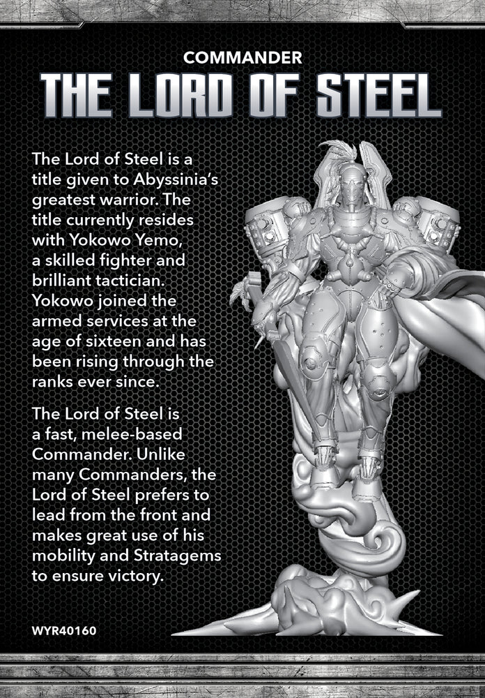 Lord of Steel - Wyrd Miniatures - Online Store
