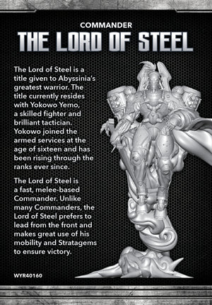 Load image into Gallery viewer, Lord of Steel - Wyrd Miniatures - Online Store
