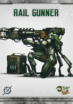Load image into Gallery viewer, Rail Gunner - Wyrd Miniatures - Online Store