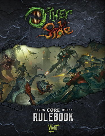 The Other Side - Hardcover Book - Wyrd Miniatures - Online Store