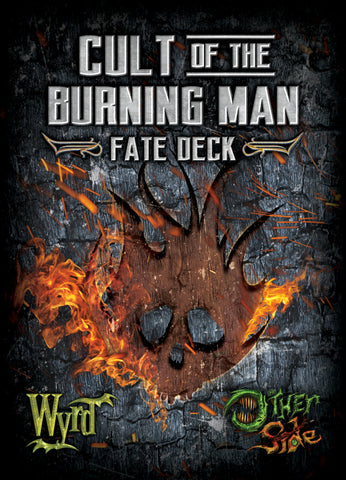 Cult of the Burning Man Fate Deck - Wyrd Miniatures - Online Store