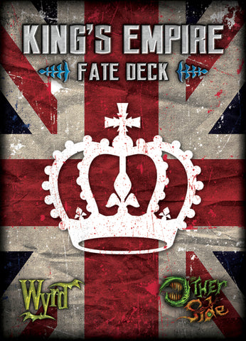 King's Empire Fate Deck - Wyrd Miniatures - Online Store