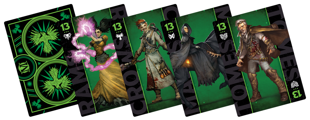 M3E Fate Deck - Resurrectionist Theme - Wyrd Miniatures - Online Store