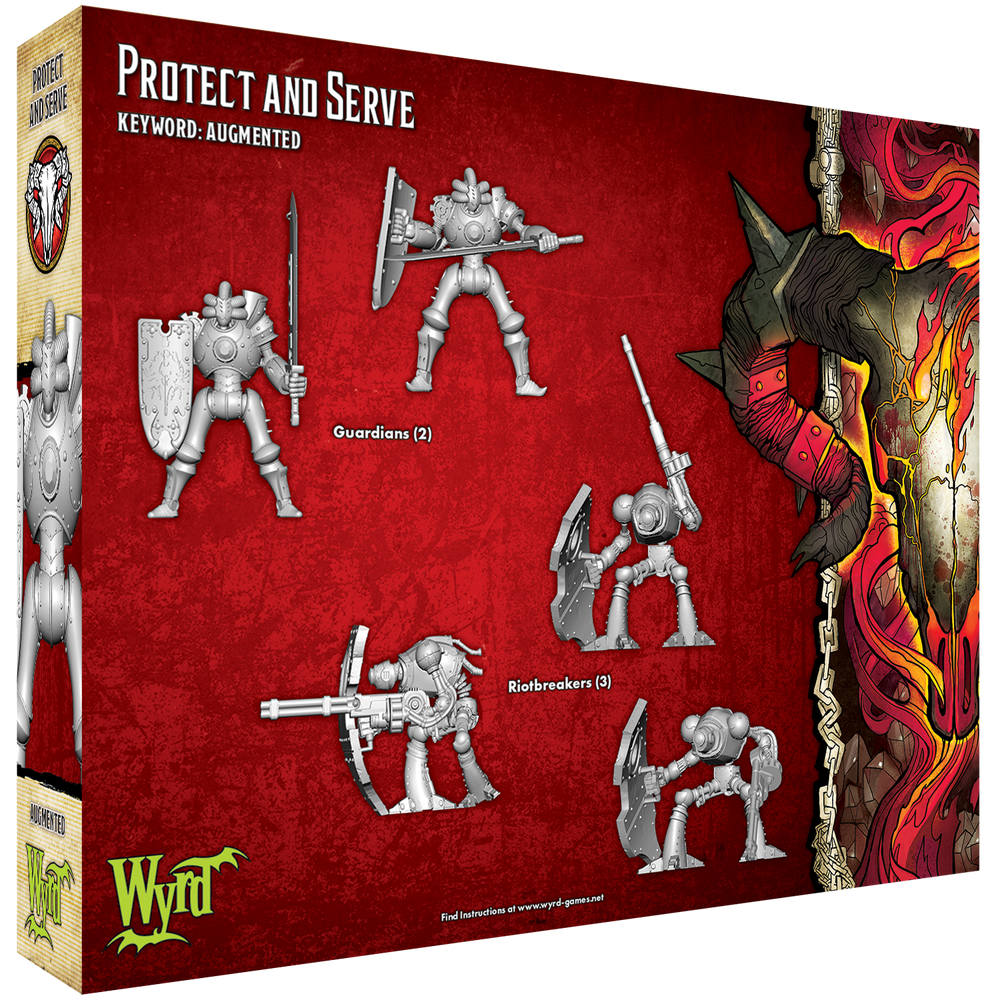 Protect and Serve - Wyrd Miniatures - Online Store