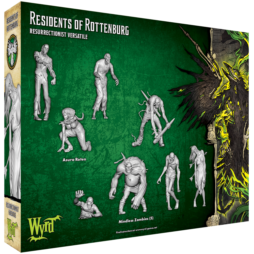 Residents of Rottenburg - Wyrd Miniatures - Online Store