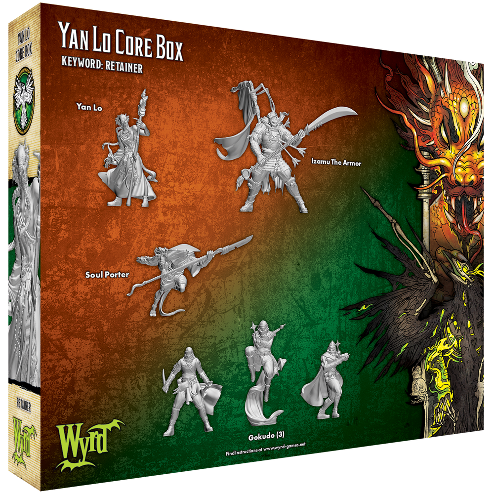 Yan Lo Core Box - Wyrd Miniatures - Online Store