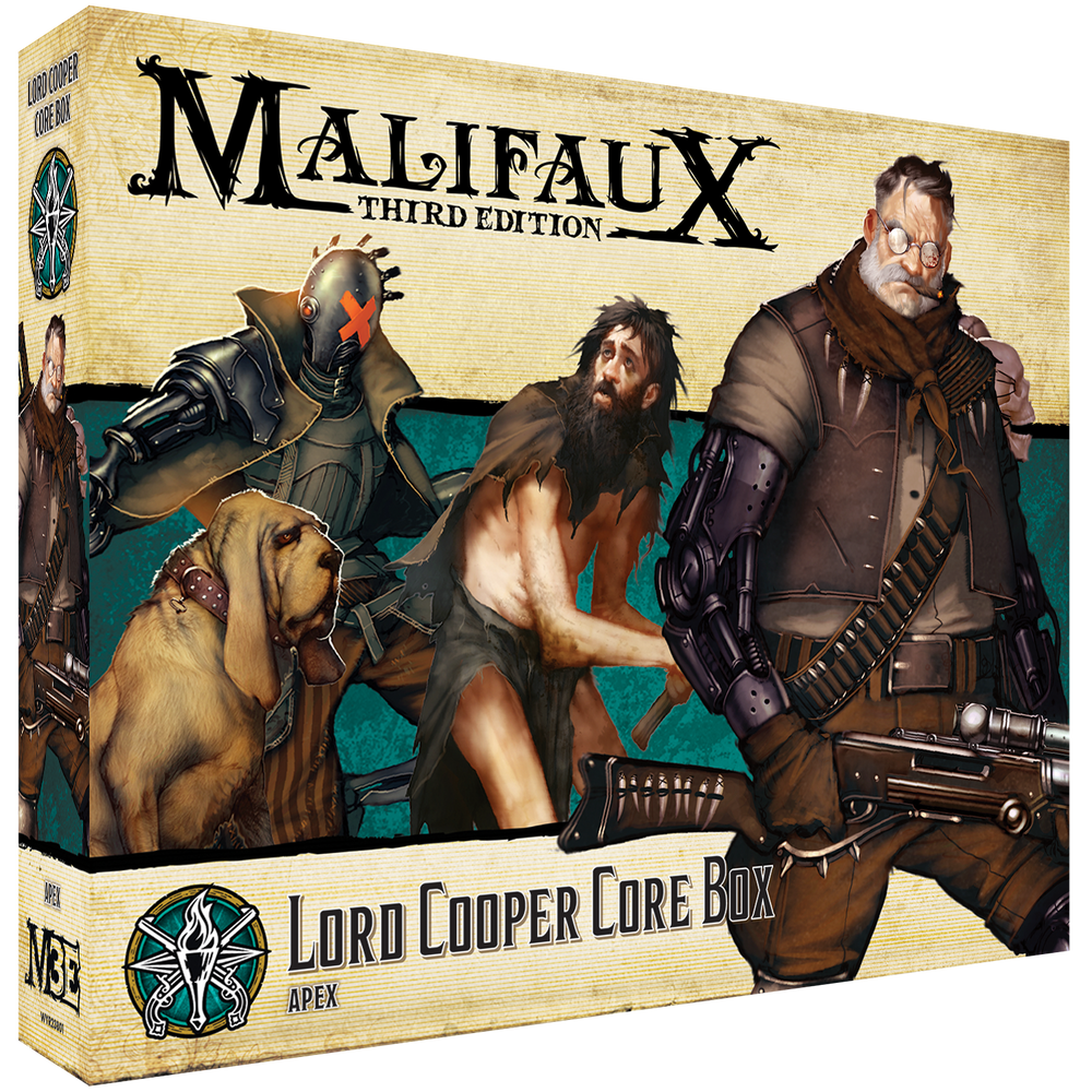 Load image into Gallery viewer, Lord Cooper Core Box - Wyrd Miniatures - Online Store
