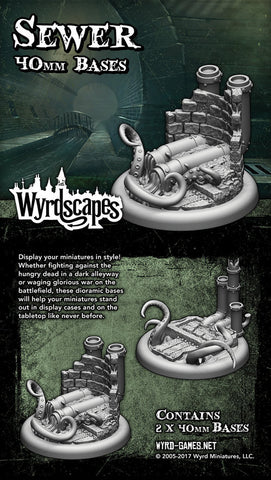 Wyrdscape Sewer 40mm