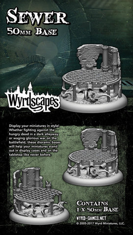 Wyrdscape Sewer 50mm