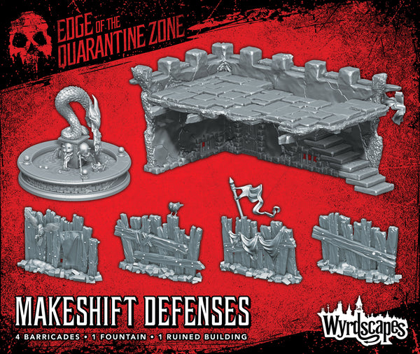 WyrdScapes - Makeshift Defenses - Wyrd Miniatures - Online Store