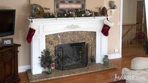 Granite Is Top Choice For Fireplace Surrounds Mr Stone Llc