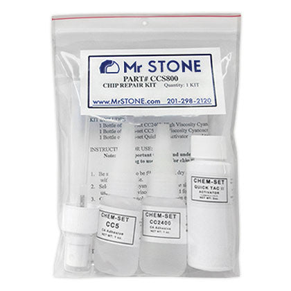 Granite and Marble Chip Repair Kit - Mr. Stone, LLC