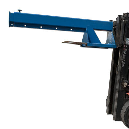 Telescoping Forklift Boom - Mr. Stone, LLC