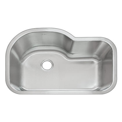 DiMonte Single Large Curved Sink M-320