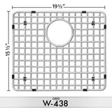 DiMonte W-437/W-438 Grids (fits sink DE-437R) - Mr. Stone, LLC