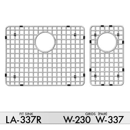 DiMonte W-230/W-337 Grids (fits sink LA-337R) - Mr. Stone, LLC