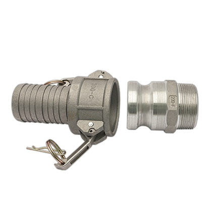 F Type Aluminum Coupling - Mr. Stone, LLC