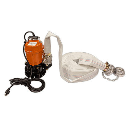 Submersible Portable Dewatering Pump - Full Package