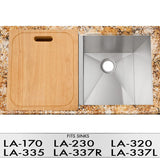 DiMonte C-410 Cutting Board (for LA-170, LA-230, LA 320, LA-335, LA-337) - Mr. Stone, LLC