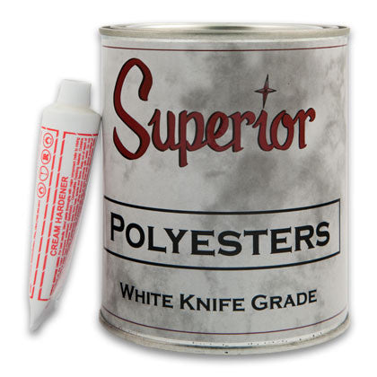 Superior Polyester White Adhesives