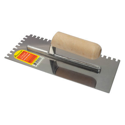 U Notched Trowel - Mr. Stone, LLC