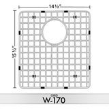 DiMonte W-170 Sink Grid (Fits Sink LA-170) - Mr. Stone, LLC