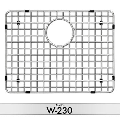 DiMonte W-230 Sink Grid (Fits Sink LA-230) - Mr. Stone, LLC