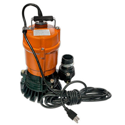 Submersible Portable Dewatering Pump - No Accessories - Mr. Stone, LLC