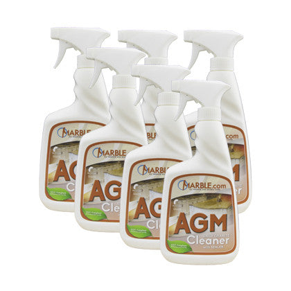 AGM Granite and Marble Countertop Cleaner 6-Pack - Mr. Stone, LLC