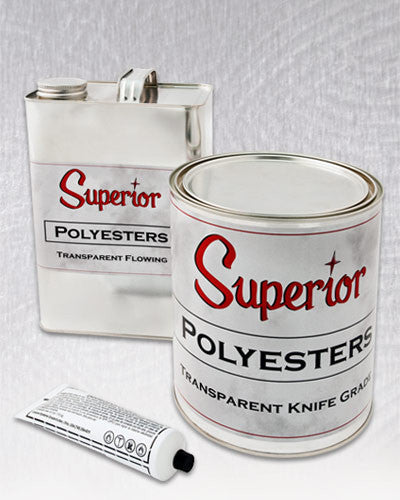 Knife Grade Quart Superior Polyester Adhesive
